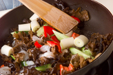 黒キクラゲの炒めものの作り方1