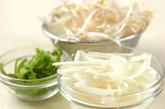 鮭のピリ辛丼の作り方2