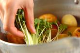 サツマイモとがんもどきの含め煮の作り方2