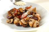 キノコのアンチョビ炒めの作り方2