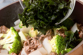 ワカメと牛肉の炒めものの作り方2