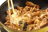 薄切り豚肉のマヨ炒めの作り方2