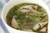 大根とささ身のスープ