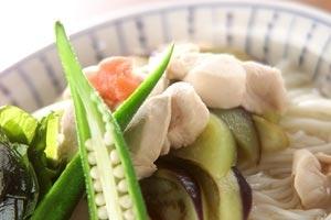 梅干しダレ素麺