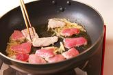 たっぷりモヤシのキムチ炒めの作り方1