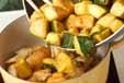 鶏カボチャのカレー煮の作り方3