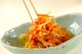 モヤシのカレー酢和えの作り方3