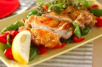 鶏肉のハーブ焼き