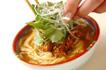 坦々ゴマ鍋の作り方7
