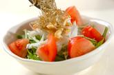 シャキシャキ水菜サラダの作り方1