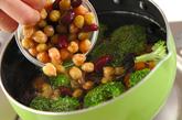 いろいろ豆のピーナッツ和えの作り方1