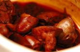 鶏レバーの佃煮の作り方1