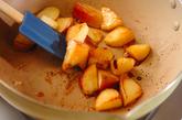 シナモンのアップルソテーの作り方1