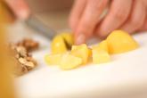 栗とクルミのブラウニーの作り方1