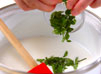 ミント風味のココアの作り方1