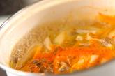 トムヤム風スープの作り方1