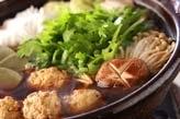 鶏つみれ鍋