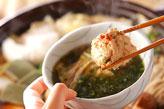 鶏つみれ鍋の作り方3