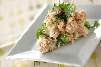 里芋とツナのサラダ