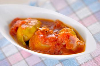芽キャベツのトマト煮