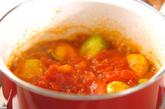 芽キャベツのトマト煮の作り方2