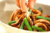 イカと焼き豆腐のショウガ煮の作り方3