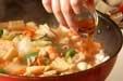 ポークとエビの中華丼の作り方3