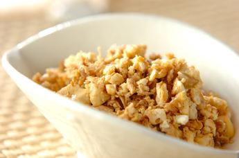 ツナ炒り豆腐