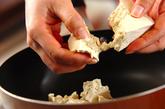 ツナ炒り豆腐の作り方1