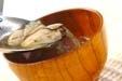 カキのお吸い物の作り方3