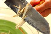 お刺身サラダの作り方3