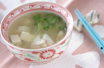 タラのスープ