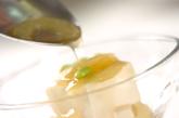 嵯峨豆腐・冷やし葛スープの作り方4