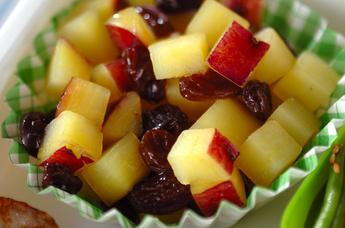 サツマイモのコロコロ甘煮