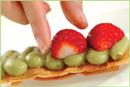 イチゴと抹茶のミルフィーユの作り方5
