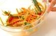 ゴボウのサラダの作り方3