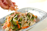 ゴーヤ入り素麺チャンプルーの作り方3