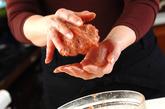 目玉焼きハンバーグの作り方3