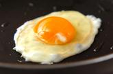 目玉焼きハンバーグの作り方5