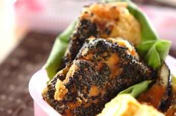 鮭のゴマチーズ揚げ