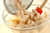 レンコンのゴママヨ和えの作り方2