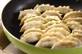タコ入り餃子の作り方3
