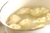 カリフラワーのチーズドレッシングがけの作り方1