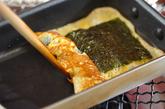 焼きのり入り卵焼きの作り方2