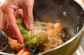 豆腐の塩炒めの作り方2