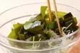 ゆでワカメの酢の物の作り方1