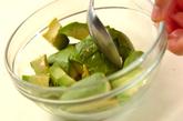 コブサラダのオーロラソースがけの作り方3