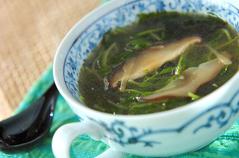 豆苗のスープ