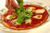 ボロネーゼピザの作り方1