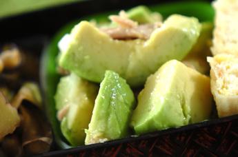 アボカドとツナの中華サラダ